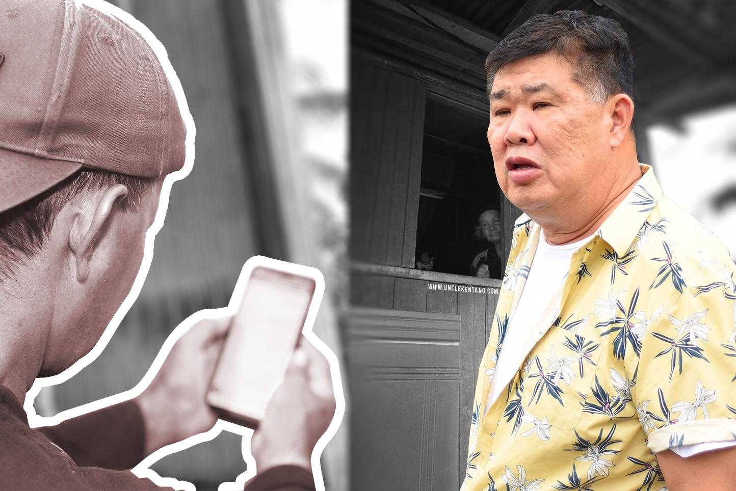Uncle Kentang Nyaris Kena 'Scam'