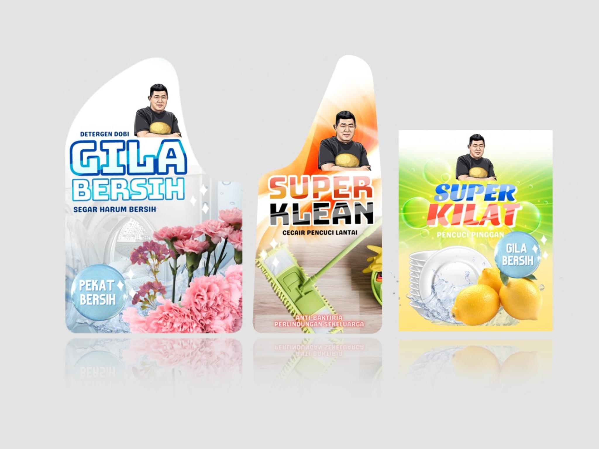 Produk Pencuci Uncle Kentang Inisiatif Baharu Kumpul Dana